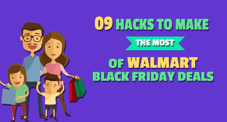 9 Hacks to Make the Most of Walmart Black Friday D